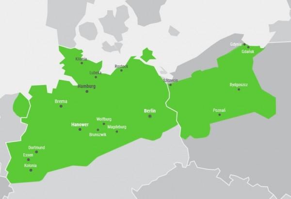 mapka miejsc podroży
